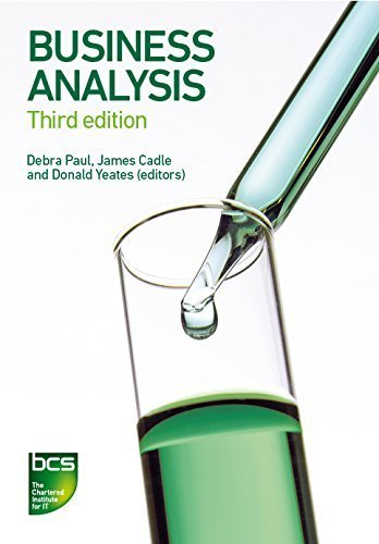 Business Analysis Revised edition by Eva, Malcolm, Hindle, Keith, Rollason, Craig (2014) Paperback