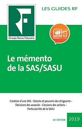 Le mémento  de la SAS/SASU par Fiduciaire Revue