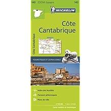 Carte Zoom 143 Cote Cantabrique