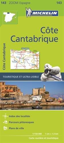 Carte Cote Cantabrique Michelin