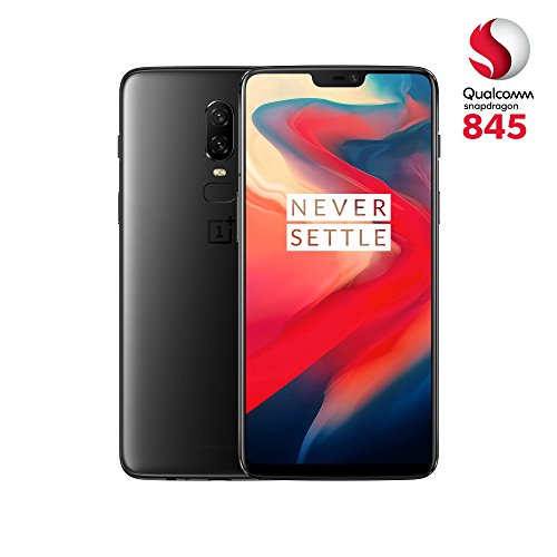 OnePlus 6 - Smartphone de 6.22' (full optic AMOLED, procesador Snapdragon 845, memoria de 8 GB RAM y 256 GB ROM), color negro