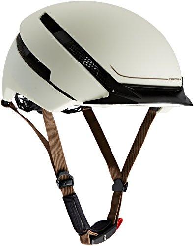 Cratoni Fahrradhelm C-Loom, Creme Rubber, 57-61 cm, 111414A2