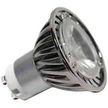 Ledbox LD1031057 - Lámpara LED, tipo dicróica GU10, 5 W, color blanco frío