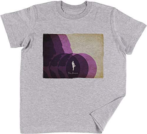 Das Jesus Kinder Jungen Mädchen Unisex T-Shirt Grau