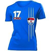 love-all-my-shirts 8 verschiedene KROATIEN FANSHIRTS Motive auswählbar - Damen T-Shirt Gr.S bis XXL - Golebros