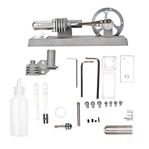 Taidda Generator Modell Motor Bildung Spielzeug, Hot Air Stirling Motor Bildung Spielzeug Strom Generator Modell