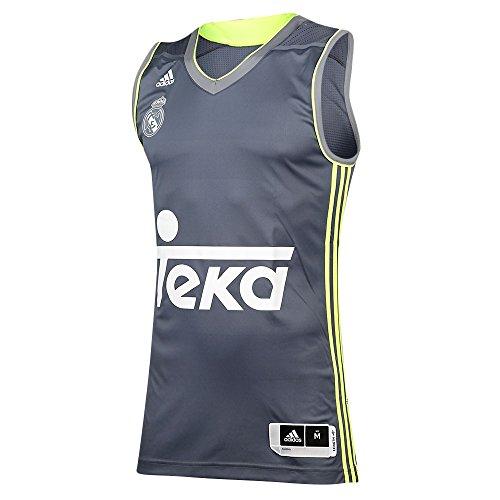 2ª equipacion Real Madrid de Baloncesto 2015-2016 - Camiseta oficial para hombre adidas, talla S