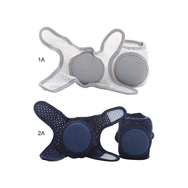 DERNISH - Rodilleras para bebé (anticaídas, para verano, para niños y niños) 3