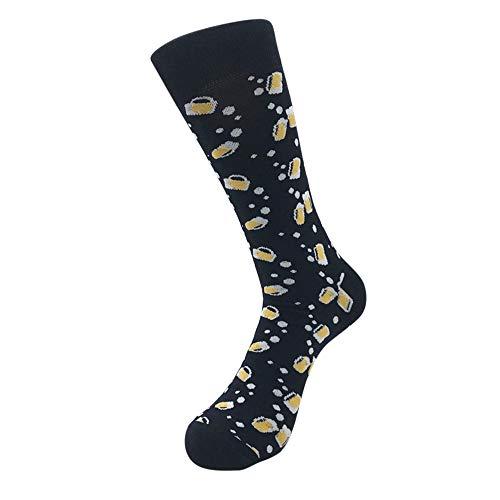TUDUZ Socken aus Baumwolle Thermal Socken Erwachsene Herren Socken Lässige Socken