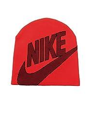 Nike Unisex Red Futura Beanie Cap