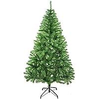 Árbol de Navidad Artificial Arboles C/Soporte Metálico 120-240cm (Verde Brillo, 180cm 477Tips)