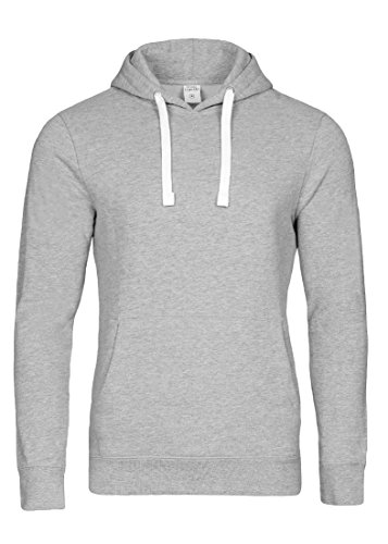 Casual Standard I Pullover Herren I Hoodie Männer I Jungen Kapuzenpullover I Men Sweater grau XL (Hollister Hoodie Für Jungen)