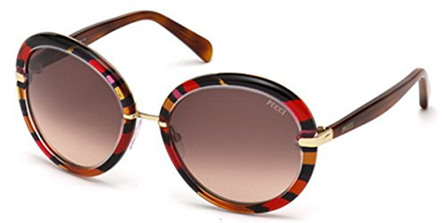 emilio-pucci-ep0012-rund-acetat-metall-damenbrillen-red-fantasy-burgundy-dark-brown-shaded77f-57-19-