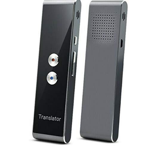 Leobtain Tragbarer Intelligenter Übersetzer mit 40 Sprachen Sprachübersetzer in Echtzeit Sprache Bluetooth 2.4G Smart Pocket Interpreter Fotografieren Übersetzung
