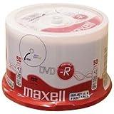 DVD-R vergini 275701 Maxell full printable stampabili 16X, 4,7GB in campana da 50 pezzi