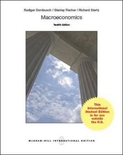 Macroeconomics by Rudiger Dornbusch (2014-02-01)
