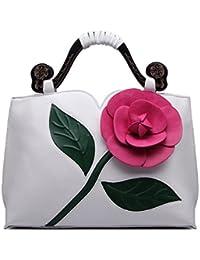 Realer Diseñador de embrague de monederos cartera de cuero de gran bolso Mujer con mango ajustable