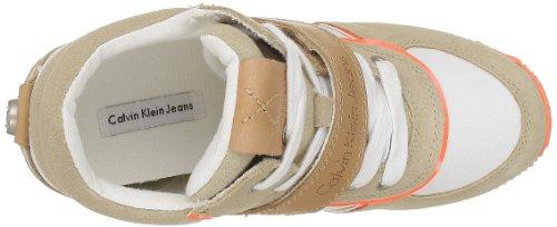 Calvin Klein Jeans VIRIDIANA SUEDE/NYLON/VACCHETTA/PATENT R8524 Damen Stiefel Mehrfarbig (CHF)