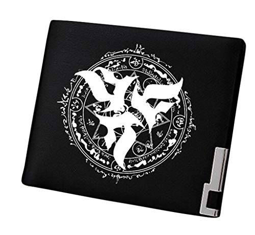 477d90b70420 Cosstars Fate Apocrypha Anime Bifold Wallet Artificial Leather Money Bag  Slim Credit Card Holder /11