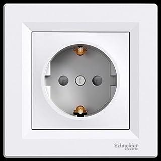 Schneider Electric eph2900221Basis SCHUKO Steckdose 16A 250V, weiß