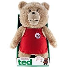 Ted 96411 (R nominal Asst en trajes de peluche con sonido y movimiento boca