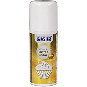 PME Edible Lustre Spray Gold 100 ml