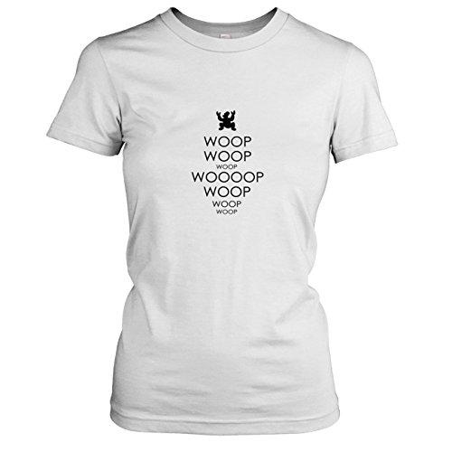 TEXLAB - Woop Woop - Damen T-Shirt, Größe XL, (Nibbler Kostüm)