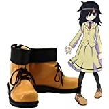 Bromeo WataMote Tomoko Kuroki Cosplay Zapatos