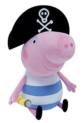 Jemini 023125–Peppa Pig–Peluche de George Pirata +/-50cm