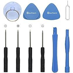 Neuftech® Kit Outils 10 PCS Démontage Tournevis iPhone 4, 4S, 5, 5C, 5S, 6, 6 Plus, 7, 7 Plus