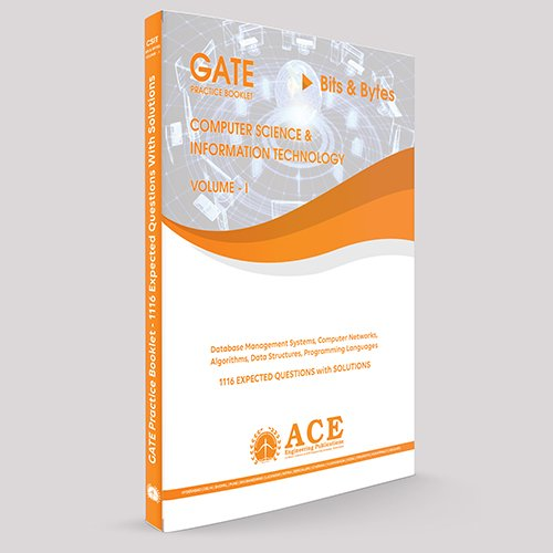 GATE Practice Book Computer Science and Information Technology Volume 1  available at amazon for Rs.230