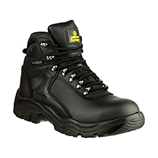 Amblers Steel FS218 W/P Safety / Mens Boots / Boots Safety (9 UK) (Black)
