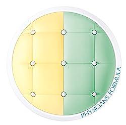 Yellow/Green : Physicians Formula Mineral Wear Talc-Free SPF 20 Cushion Corrector + Primer Duo, Yellow/Green, 0.33 Ounce