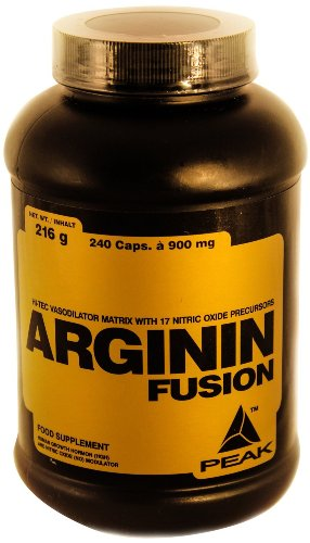 #Peak Arginin Fusion, 240 Kapseln, 1-er Pack (1 x 240 g)#