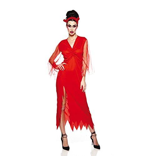 Unbekannt AEC-aq00538/L-Kostüm-Elegant Teufelin Erwachsene, Größe L