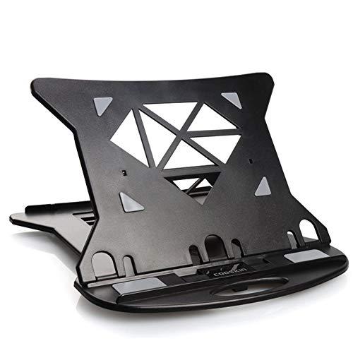 TARTIERY Laptop PC Unterstützung Ständer Halter Faltbare Tragbare Ergonomische Einstellbare Für Bett Büro Tablet Ständer Lift Drehen 360 Grad Für IPad Pro MacBook Surface Pro Andere Laptops -