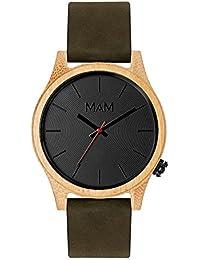 MAM Originals · Quail Green | Reloj de hombre | Diseño minimalista y elegante | Reloj