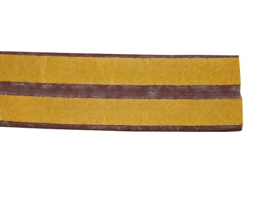 Aerzetix: Strips Insulation Insulating Tape Brown 2 x 3 Meter for Window Or Door