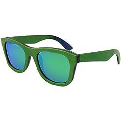 09e1d8cda1 dfb Madera Polarizada Gafas De Sol De Alto Grado Hombres Y Mujeres Gafas De  Sol Color