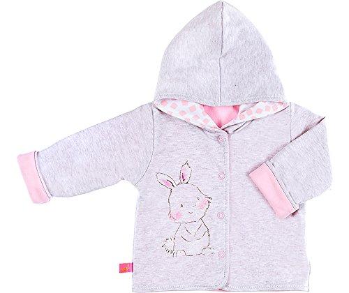 Be Mammy Kinder Baby Sweatshirt mit Kapuze BEEK0006 (Melange/Rosa, 74) -