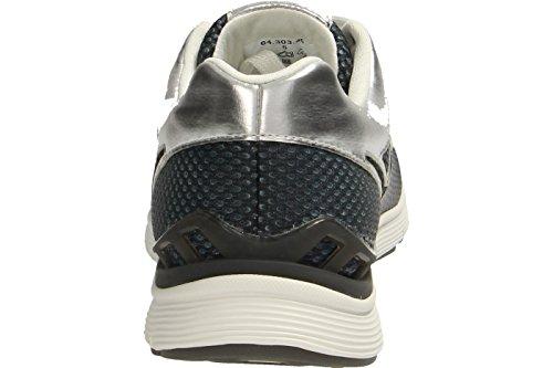 Mesdames Sneaker Gabor sports 64.303.49 kombi gris 37 38 38.5 39 40 40.5 Gris