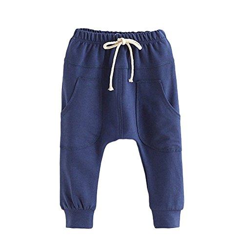 Kinder Jungen Hosen Long Pants-LOSORN ZPY Baby Sommer Baggy Harem Freizeit Sport Hose