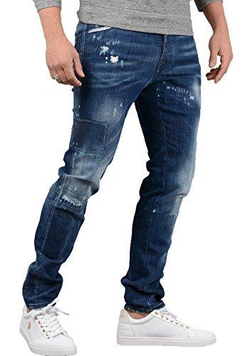DSQUARED2- Mens S74LB0323 Cool Guy Jean in Denim Blue 2369e06236b1