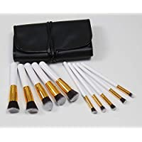 XNWP-10 white gold brush set trucco pennello gadget