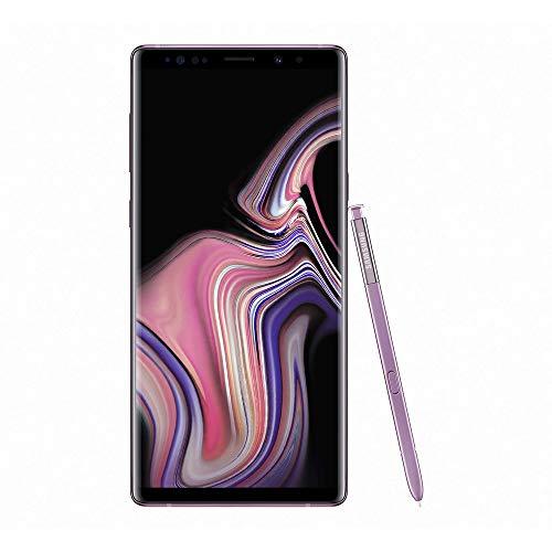 Samsung Galaxy Note9 Smartphone débloqué 4G (Ecran : 6,4 pouces - 128 Go - Double Nano-SIM - Android 8.1) Mauve Orchidée - Version internationale
