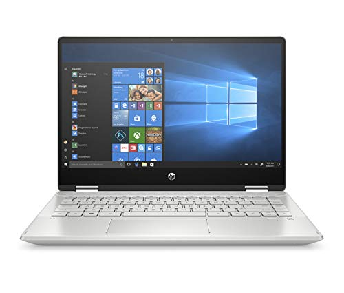 "HP Pavilion x360 14-dh0029nl, Notebook Convertibile, Intel® CoreTM i5 8265U, 8 GB di RAM, SSD da 256 GB, Display 14"" touchscreen FHD IPS, Argento Minerale"