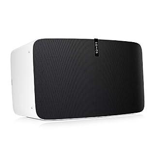 Sonos Play: 5 altavoz wifi - altavoz inteligente compatible con Apple AirPlay en dispositivos iOS y los asistentes de voz Amazon Echo o Dot, color blanco (B01615UVQU) | Amazon price tracker / tracking, Amazon price history charts, Amazon price watches, Amazon price drop alerts