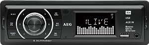 AEG AR 4027 Autoradio MP3 Tuner PLL 4 x 80 W Slot pour carte SD / port USB