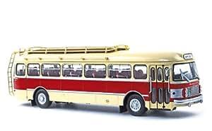 Norev - 521009 - Véhicule Miniature - Saviem Sc1 1964 - Crème / Rouge - Echelle - 1/43e