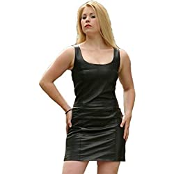 Erogance - Vestido - para mujer negro XXXXL